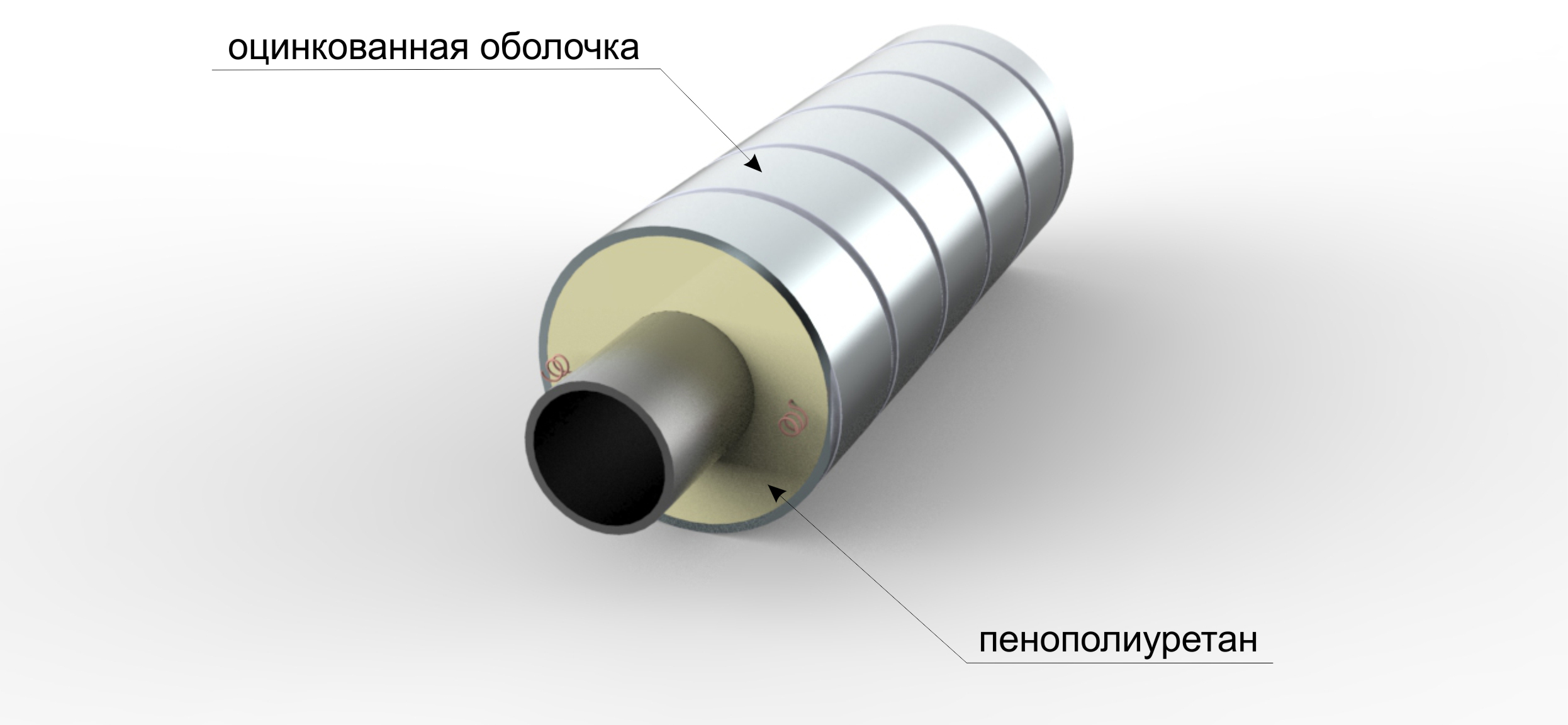 PPU pipes (from polyurethane foam) - what is it 76